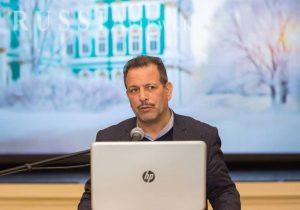 سلیمانی، در افتتاح نخستین کنگره ایرانشناسان اوراسیا در تالار نمایش موزه ارمیتاژ