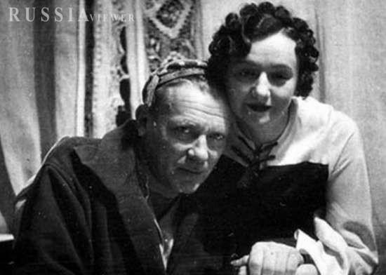 میخائیل بولگاکف و همسرش
