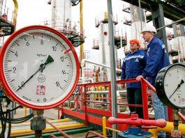 صادرات گاز روسیه